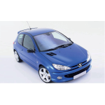 Norev - Peugeot 206 RC 2003,  Recif Blue   1/18